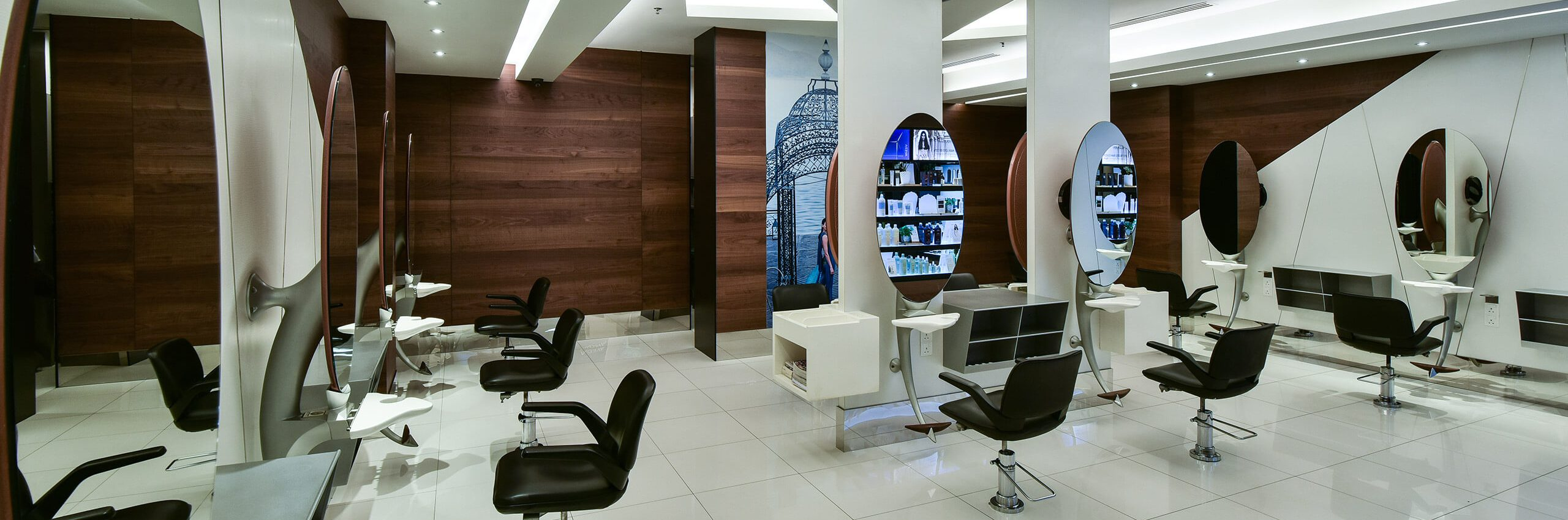 The interior of Restyle Salon in 1 Mont Kiara